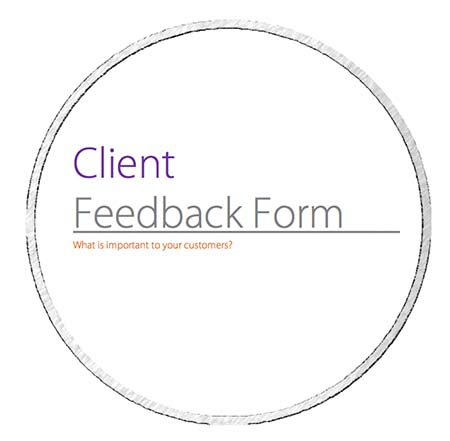 Client Feedback Form  Basin Education